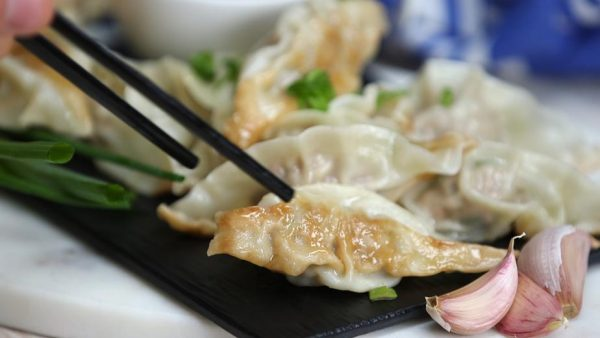Dumpling Seasoned with Maple Pepper with Garlic